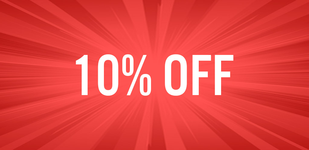 10% Off Icon